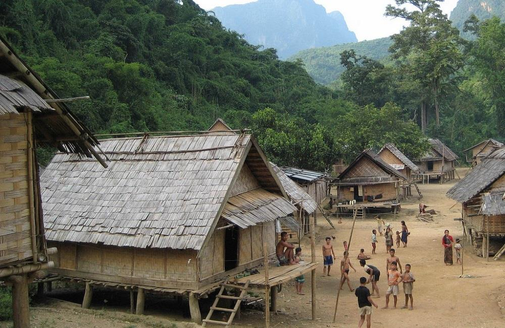 Village Khmu Laos
