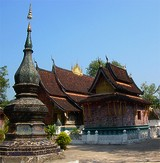 Xien Thong : temple bouddhiste à Luang Prabang