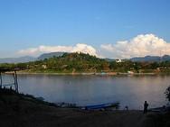 le Mékong à Luang Prabang - Laos